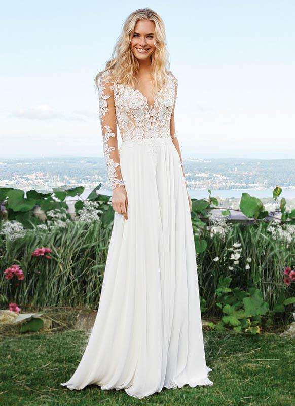 Divina Suknie Ślubne 2017 - Lillian West - Suknia 6422