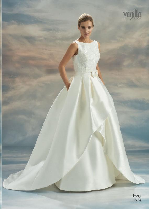 Divina Suknie ślubne 2017 - Vanilla - Suknia Ivory 1524