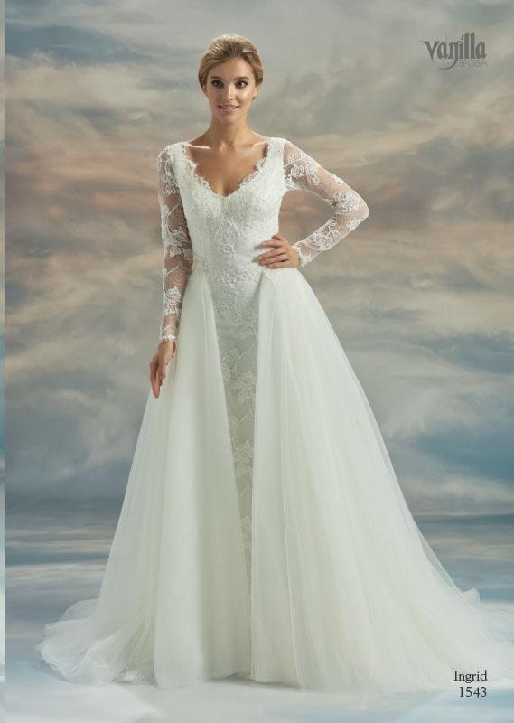 Divina Suknie ślubne 2017 - Vanilla - Suknia Ingrid 1543